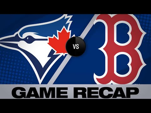 Blue Jays storm back to beat Red Sox   Blue Jays-Red Sox Game Highlights 6/22/19