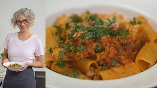 Turkey And Mushroom Bolognese - Everyday Food With Sarah Carey