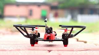 How to make mini FPV camera drone    best school & college science project    talent nky.