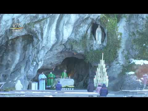 Messe de 10h à Lourdes du 12 janvier 2021