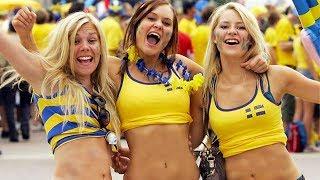 ВСЯ ПРАВДА О ШВЕДСКИХ ФУТБОЛЬНЫХ БОЛЕЛЬЩИКАХ. Как ведут себя фанаты Швеции и Кореи. Swedish fans.