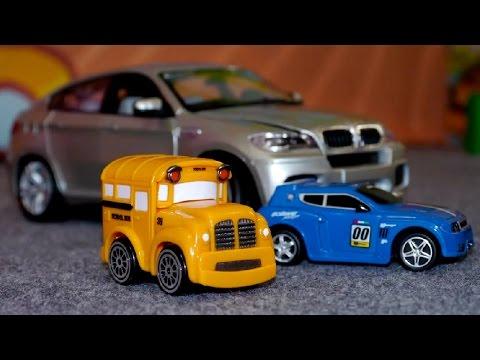 Die Auto Messe und der BMW X6 - Toller Lernspaß für Kinder!