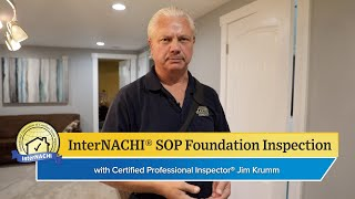 How to Perform a Foundation Inspection According to the InterNACHI® SOP