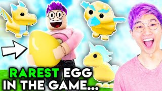 Can You Hatch The RAREST GOLDEN EGG EVER In This ROBLOX GAME!? (ADOPT ME)