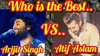 Atif aslam & Arijit Singh Real Voice Without Autotune - Rare Compilation Video