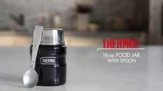Vidéo - King porte-aliments 0,5 litre