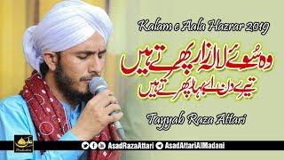 Best Kalam E Aala Hazrat 2019   Wo Soye Lala Zar Phirte Hain   Tayyab Raza Attari 2019