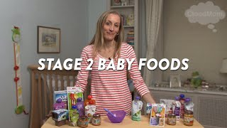 Stage 2 Baby Foods | CloudMom