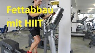 30 Min HIIT Crosstrainer Workout zur schnellen Fettverbrennung