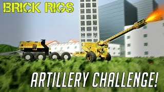 MULTIPLAYER ARTILLERY LEGO BATTLE! - Brick Rigs Multiplayer Challenge Gameplay