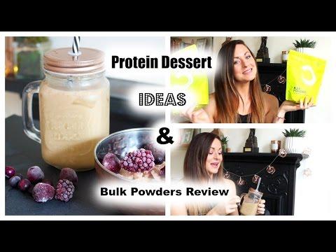Protein Dessert Ideas & Bulk Powders Review