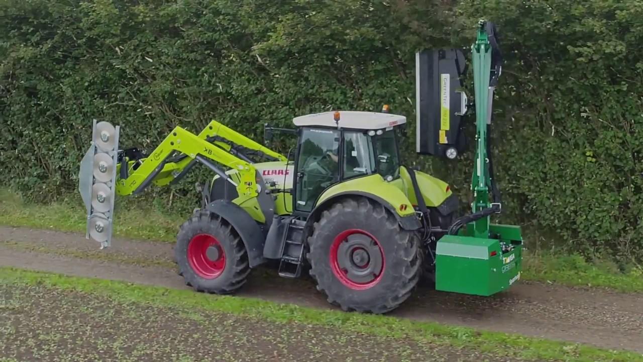 Hedge Mulcher for Tractor, Excavator and Telehandler
