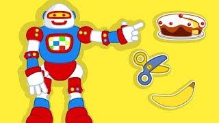 Aprende con el Robot de Plim Plim #02   A Jugar