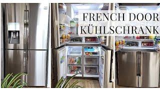 Review French Door Kühlschrank Samsung RF56J9041 Unterschied zum Side by Side Kühlschrank Erfahrung