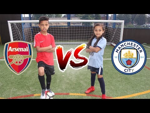 FOOTBALL CHALLENGE | PENALTY SHOOTOUT CHALLENGE | TASH BALLER VS MY SISTER