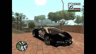 GTA SAN ANDREAS - GTA V Pegasi Lampo S18B COP