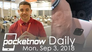 Huawei Mate 20 Pro spotted at IFA, Galaxy Device with 4 Cameras? - Pocketnow Daily