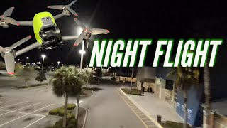 Flying the DJI FPV at night? How does it do?