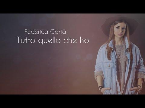 , title : 'Federica Carta - Tutto quello che ho [Official Lyric Video]'