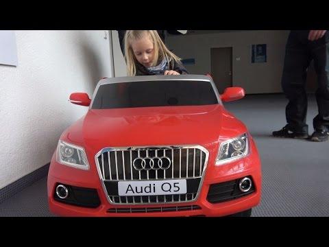 Elektro Kinderauto Kinderfahrzeug AudiQ5 im EURONICS Test