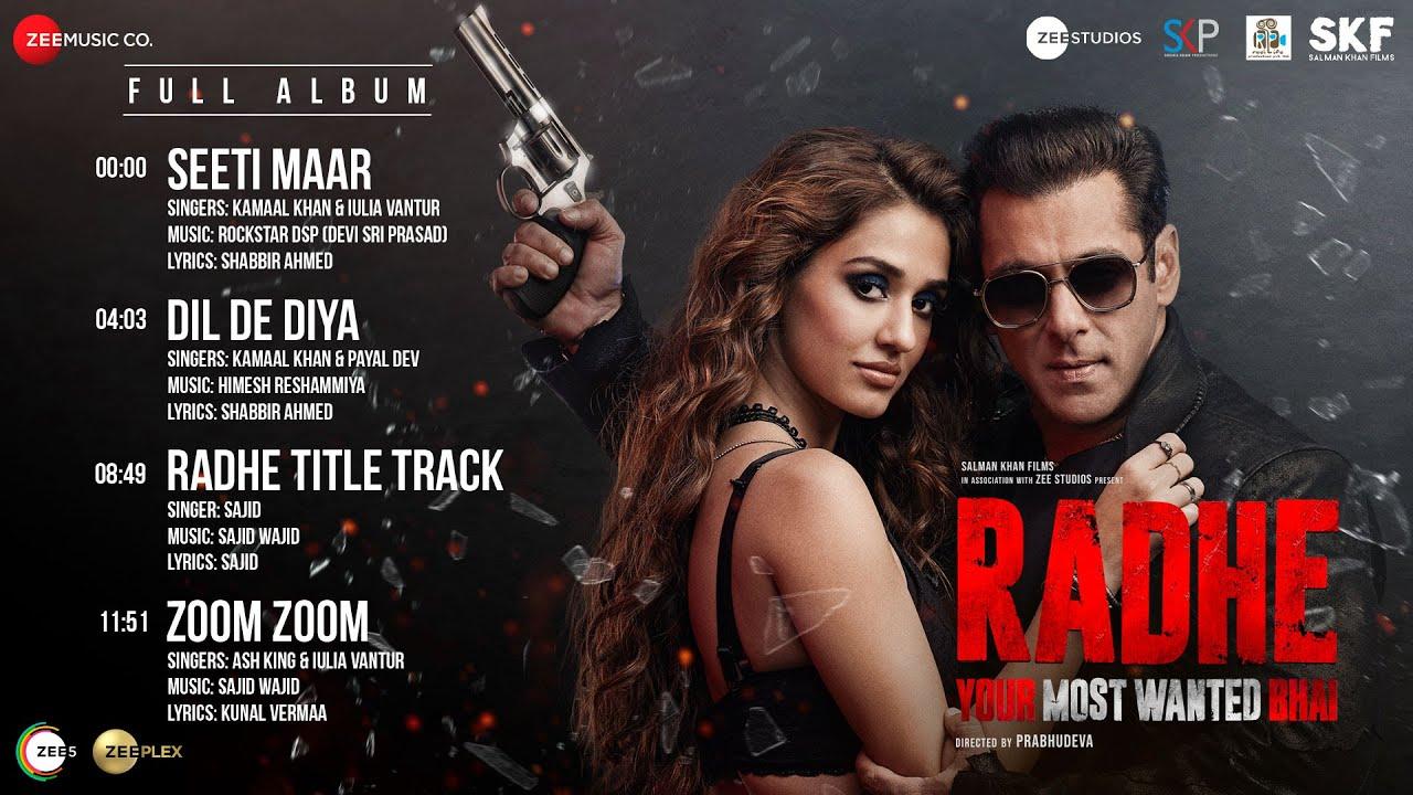 Zoom Zoom Lyrics | RADHE | Salman Khan & Disha Patani | Zee music Company| Ash King & Iulia Vantur Lyrics