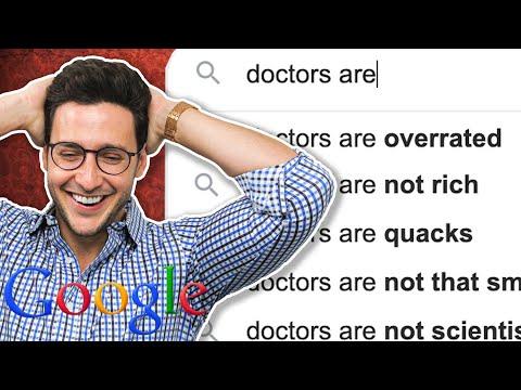Doktor vs. Google | Doktoři jsou… přeceňovaní
