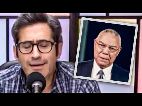 Sam Seder CRUSHES Colin Powell's Disgusting DNC Speech