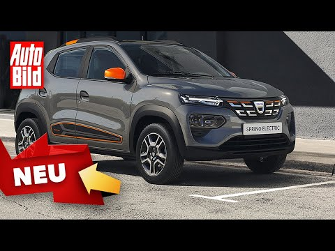 Dacia Spring Electric (2021) | Dacias erstes E-Auto teurer als gedacht | Skizze
