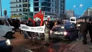 Protesta në Lushnje dhe Shkodër
