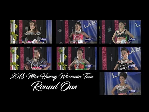 SUAB HMONG ENTERTAINMENT: Miss Hmong Wisconsin Teen 2018 - Round 1 Introduction