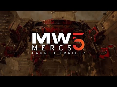Trailer de MechWarrior 5 Mercenaries