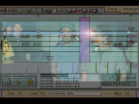 Justin Bieber - Baby ft. Ludacris - Mario Paint Composer