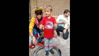 Show de pompas de jabón para fiesta infantil con animación