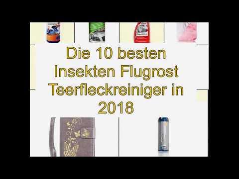 Die 10 besten Insekten Flugrost Teerfleckreiniger in 2018