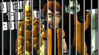 BEN 10 GOES TO PRISON MOD w/ HEATBLAST & DIAMONDHEAD (GTA 5 PC Mods Gameplay)