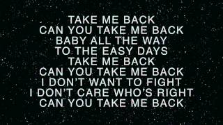 Charity Vance - Take Me Back (lyrics)
