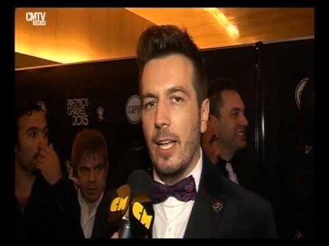 Ale Ortega video Entrevista CM  - Premios Gardel 2015