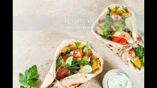 Low-Carb Flatbread - Tortillas & Naan (2 ingredients) | Vegan, Paleo, Keto