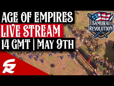 Age of Empires 3 LIVESTREAM & GIVEAWAYS | 5/9 @ 14 GMT