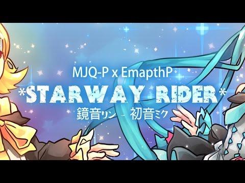 MJQ-P x EmpathP - Starway Rider ft. Hatsune Miku & Kagamine Rin (Original)