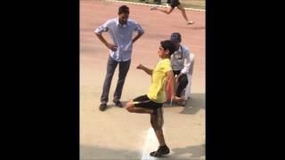 Technique of Long Jump