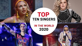 top 10 singers in the world 2020 - 10