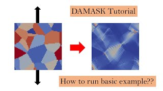 DAMASK Example Tutorial | Part-1 | 2D Poly-crystalline Aluminum