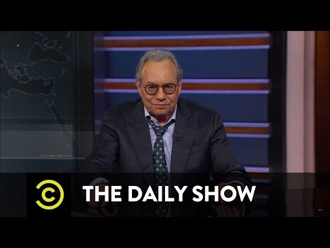 Back in Black - The Trump Inauguration's No-Star Lineup: The Daily Show