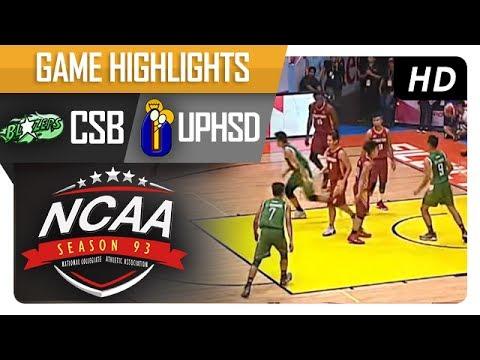 Perpetual Altas vs. Benilde Blazers  | NCAA 93 | MB Game Highlights | July 11, 2017