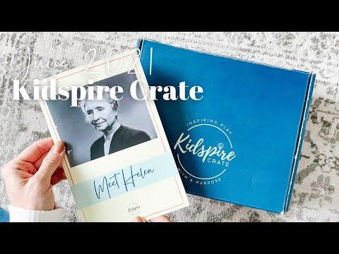 Kidspire Crate Unboxing June 2021