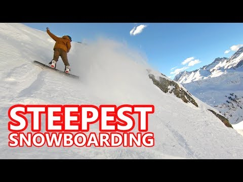 OUR STEEPEST SNOWBOARDING IN AUSTRIA