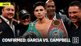 CONFIRMED: Ryan Garcia vs. Luke Campbell