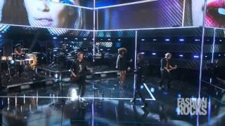 "Duran Duran - ""The Reflex"" / ""Girl Panic"" / ""Hungry Like The Wolf""  Live At Fashion Rocks 2014"
