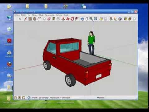 Creando un Auto de Juguete en Google Sketchup 8 - 10/04/2012